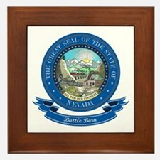 Nevada Seal Framed Tile