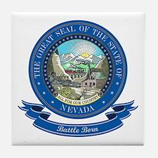 Nevada Seal Tile Coaster