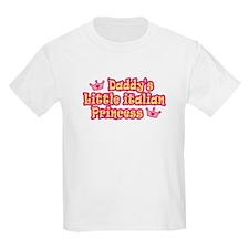 Daddy's Little Italian Princess Kids T-Shirt