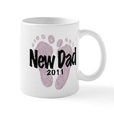 New Dad 2011 (Girl) Mug