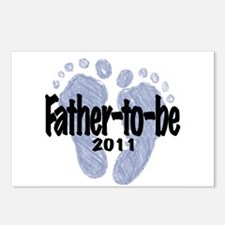 Father to Be 2011 (Boy) Postcards (Package of 8)