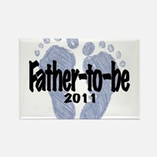Father to Be 2011 (Boy) Rectangle Magnet