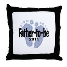 Father to Be 2011 (Boy) Throw Pillow