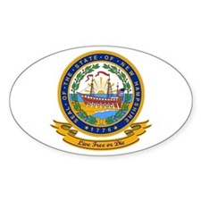 New Hampshire Seal Decal