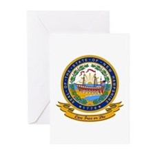 New Hampshire Seal Greeting Cards (Pk of 10)