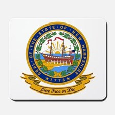New Hampshire Seal Mousepad