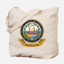 New Hampshire Seal Tote Bag