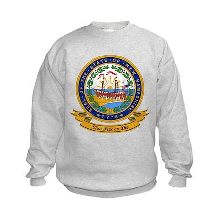New Hampshire Seal Kids Sweatshirt