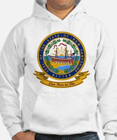 New Hampshire Seal Hoodie