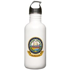 New Hampshire Seal Water Bottle