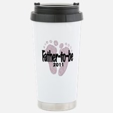 Father to Be 2011 (Girl) Travel Mug