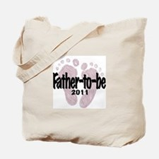 Father to Be 2011 (Girl) Tote Bag