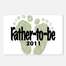 Father to Be 2011 (Unisex) Postcards (Package of 8