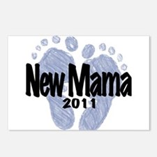 New Mama 2011 (Boy) Postcards (Package of 8)