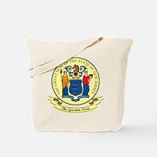 New Jersey Seal Tote Bag