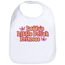 Daddy's Little Polish Princess Bib