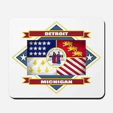 Detroit Flag Mousepad