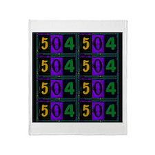 NOLA 504 Throw Blanket