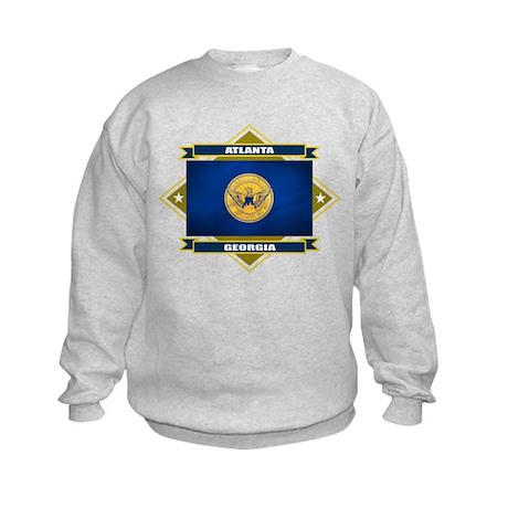 Atlanta Flag Kids Sweatshirt