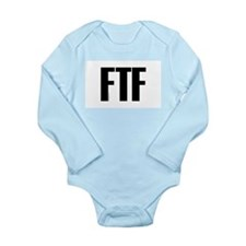 FTF Long Sleeve Infant Bodysuit