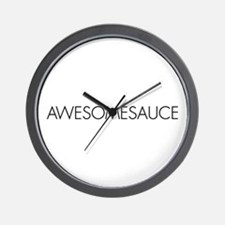 Awesomesauce Wall Clock