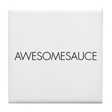Awesomesauce Tile Coaster
