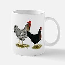 Black Sex-linked Chicken Pair Mug