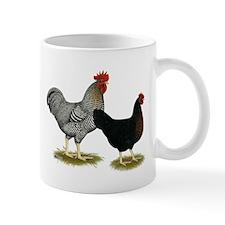 Black Sex-linked Chicken Pair Small Mug