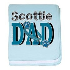 Scottish Terrier DAD baby blanket