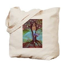 Yoga Balance-Tree POSE Tote Bag