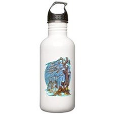Christmas at Elf Hall Water Bottle