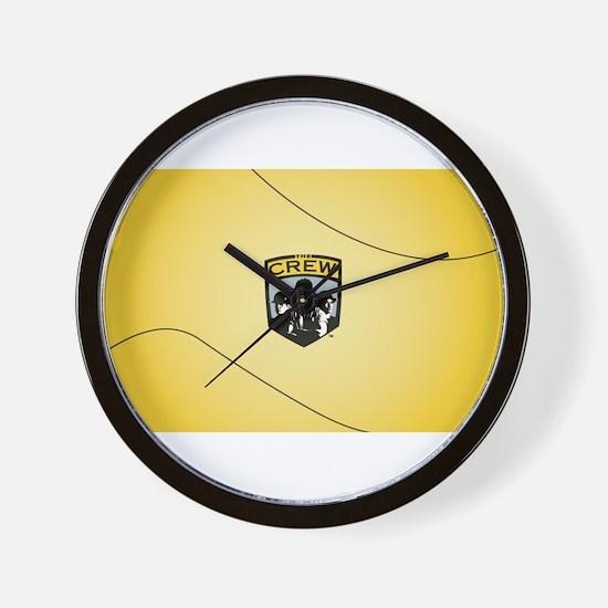 Unique Crew Wall Clock