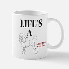 Unique Female poodle Mug