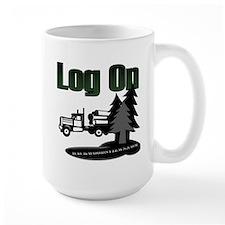 Log On Mug