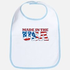 Made in the USA Bib