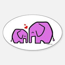 Kiiri & Kiiri (2) Sticker (Oval)