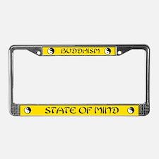 Buddhism Gift License Plate Frame Holder