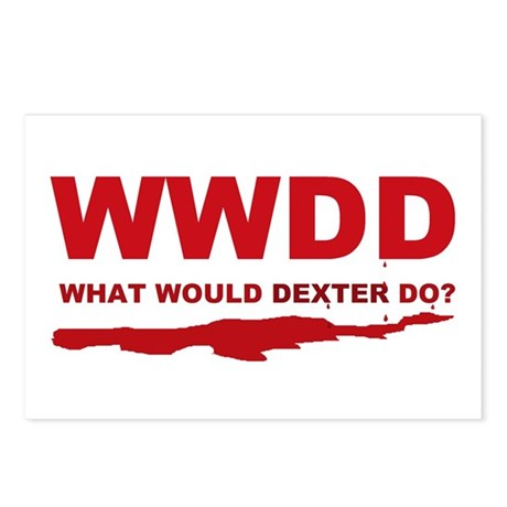 What would Dexter do? Postcards (Package of 8)