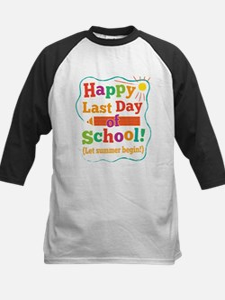 Last Day Of School Baseball Jersey