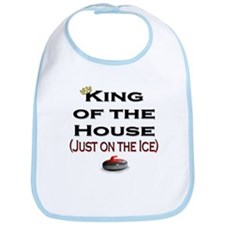 King of the House Bib