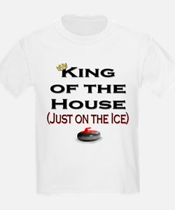 King of the House Kids T-Shirt