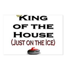 King of the House Postcards (Package of 8)