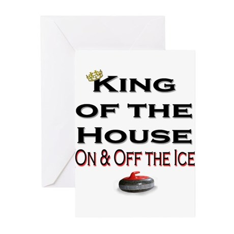 King of the House2 Greeting Cards (Pk of 10)