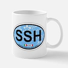 Seaside Heights NJ - Sand Dollar Design Mug