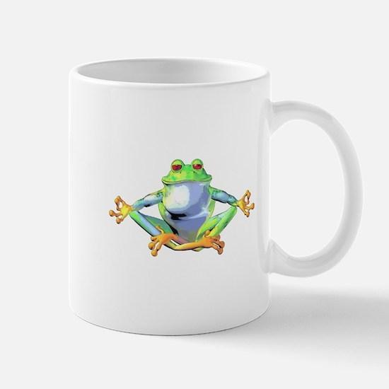 Meditating Frog Mug