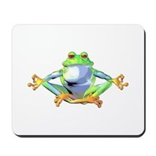 Meditating Frog Mousepad