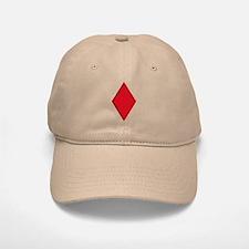 Red Diamonds Baseball Baseball Cap
