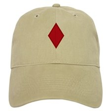 Red Diamonds Baseball Cap