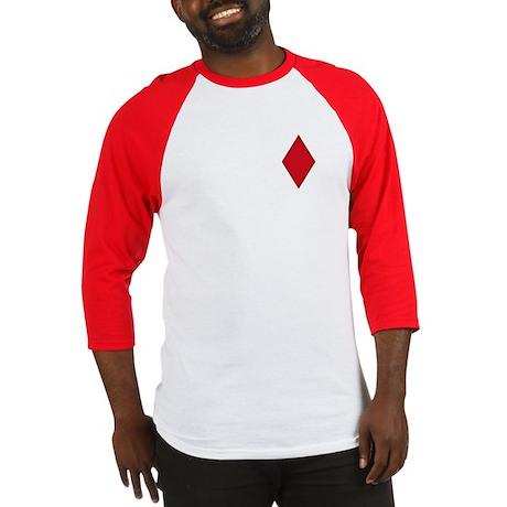 Red Diamonds Baseball Jersey