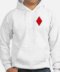 Red Diamonds Hoodie